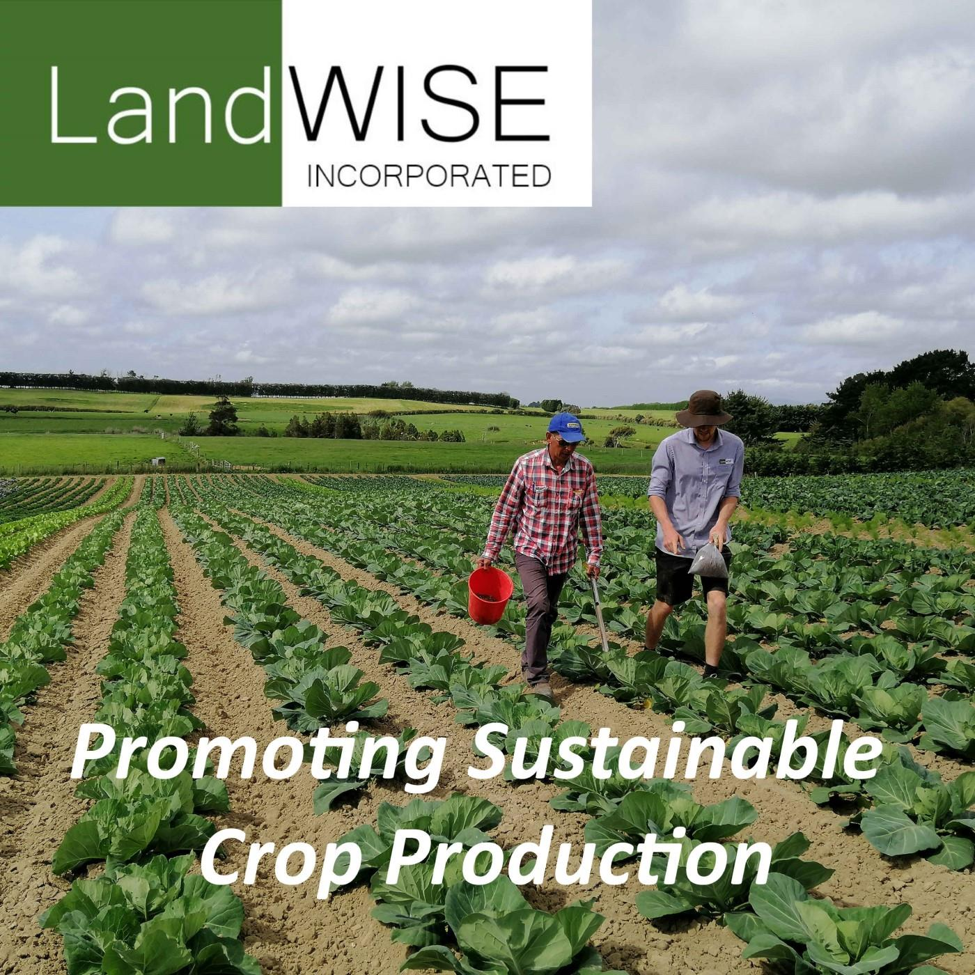 LandWISE: Promoting Sustainable Crop Production