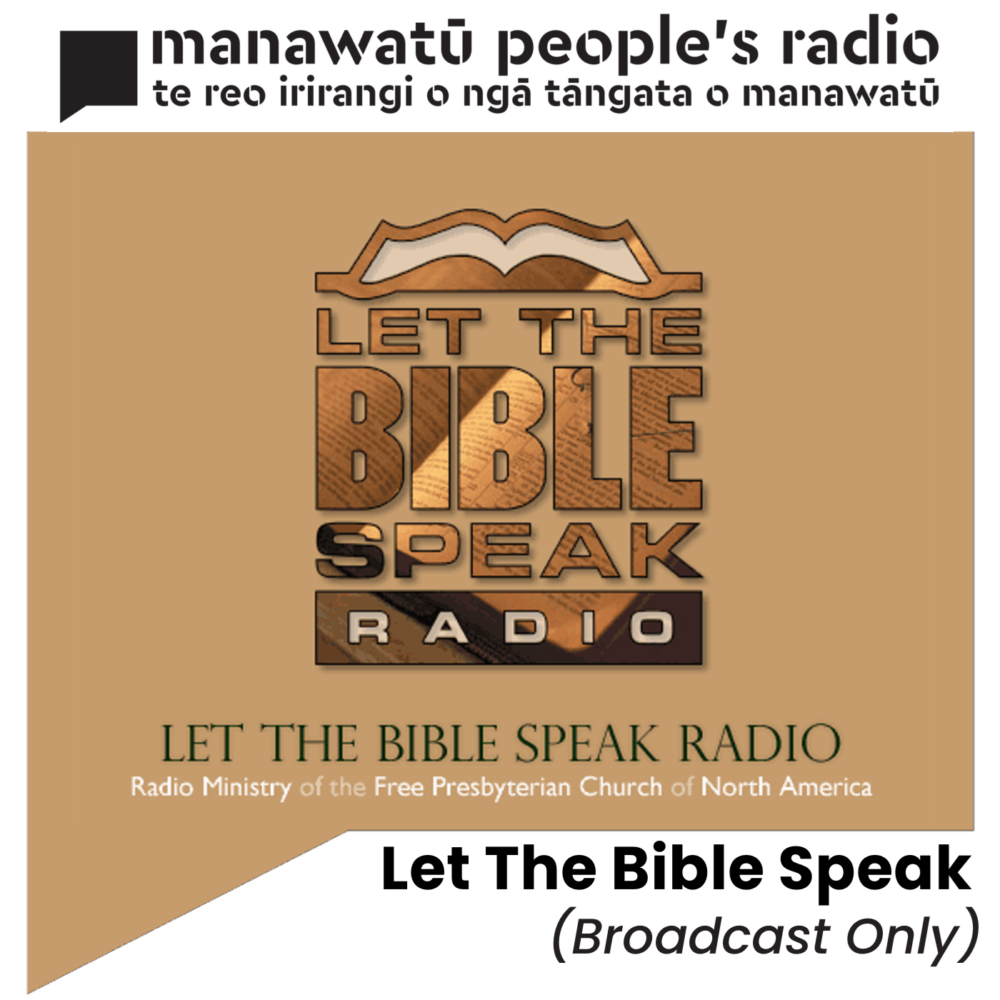 Let The Bible Speak (Broadcast Only)